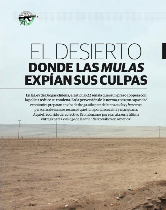 El desierto donde las mulas expías sus actos