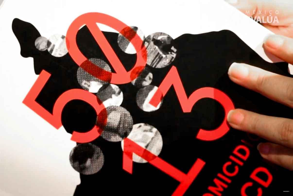 Publicación de 5013 homicidios en CDMX